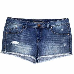 American Rag Women's Shorts Size 13 W37 Blue